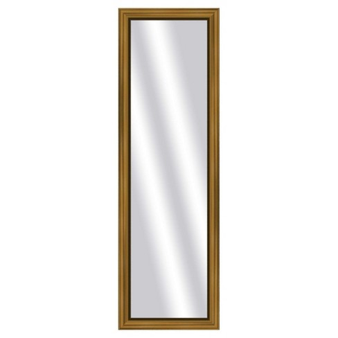 Floor Mirror PTM Images Antique Gold - image 1 of 1