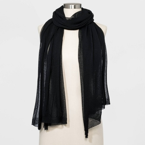 Women's Oblong Wrap Scarf - A New Day™ One Size - image 1 of 2