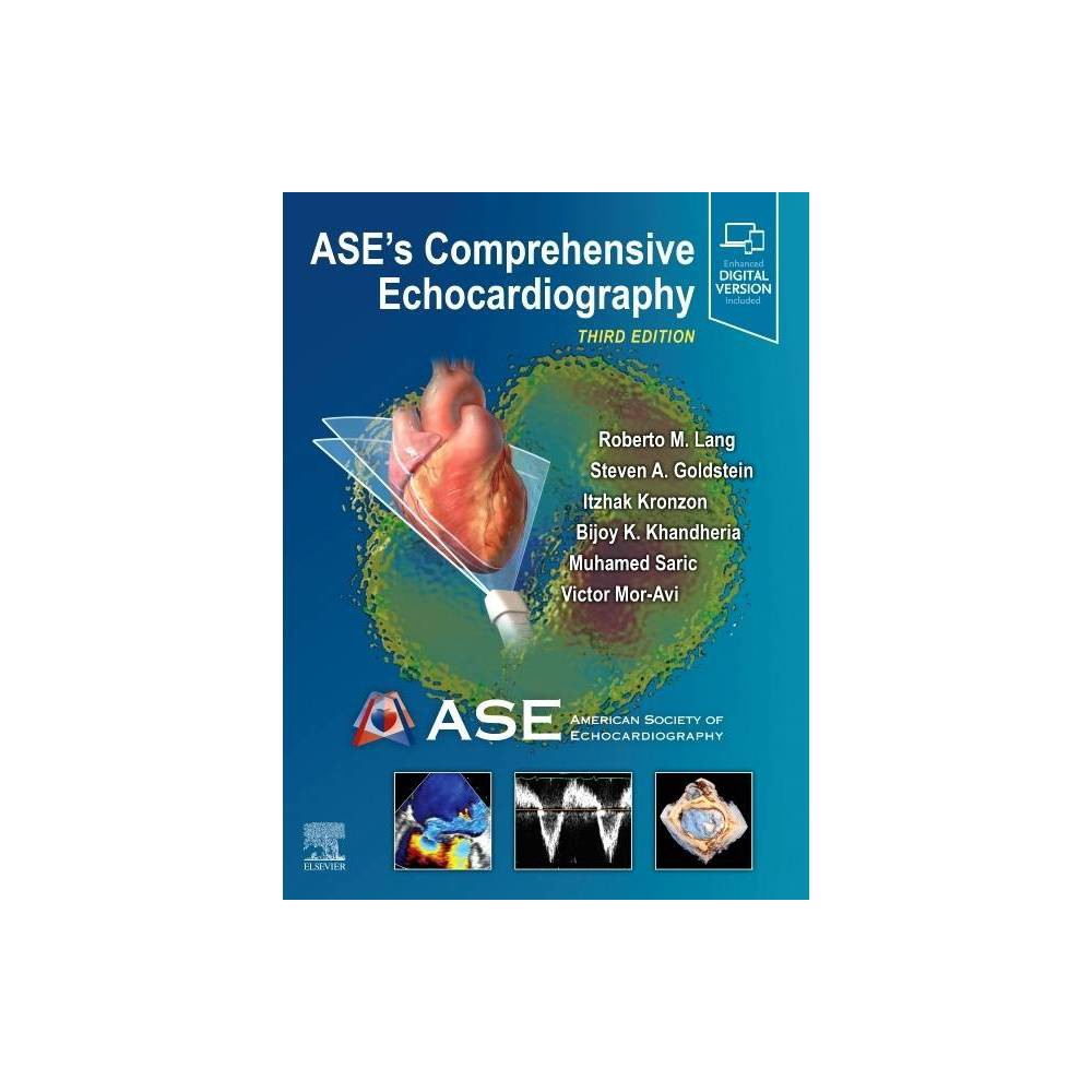 Ase S Comprehensive Echocardiography 3rd Edition Hardcover