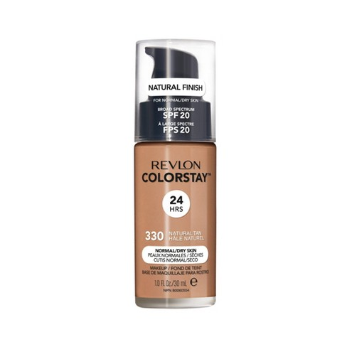 Revlon ColorStay Makeup Foundation for Normal/Dry Skin with SPF 20 - Tan Shades - 1 fl oz - image 1 of 4