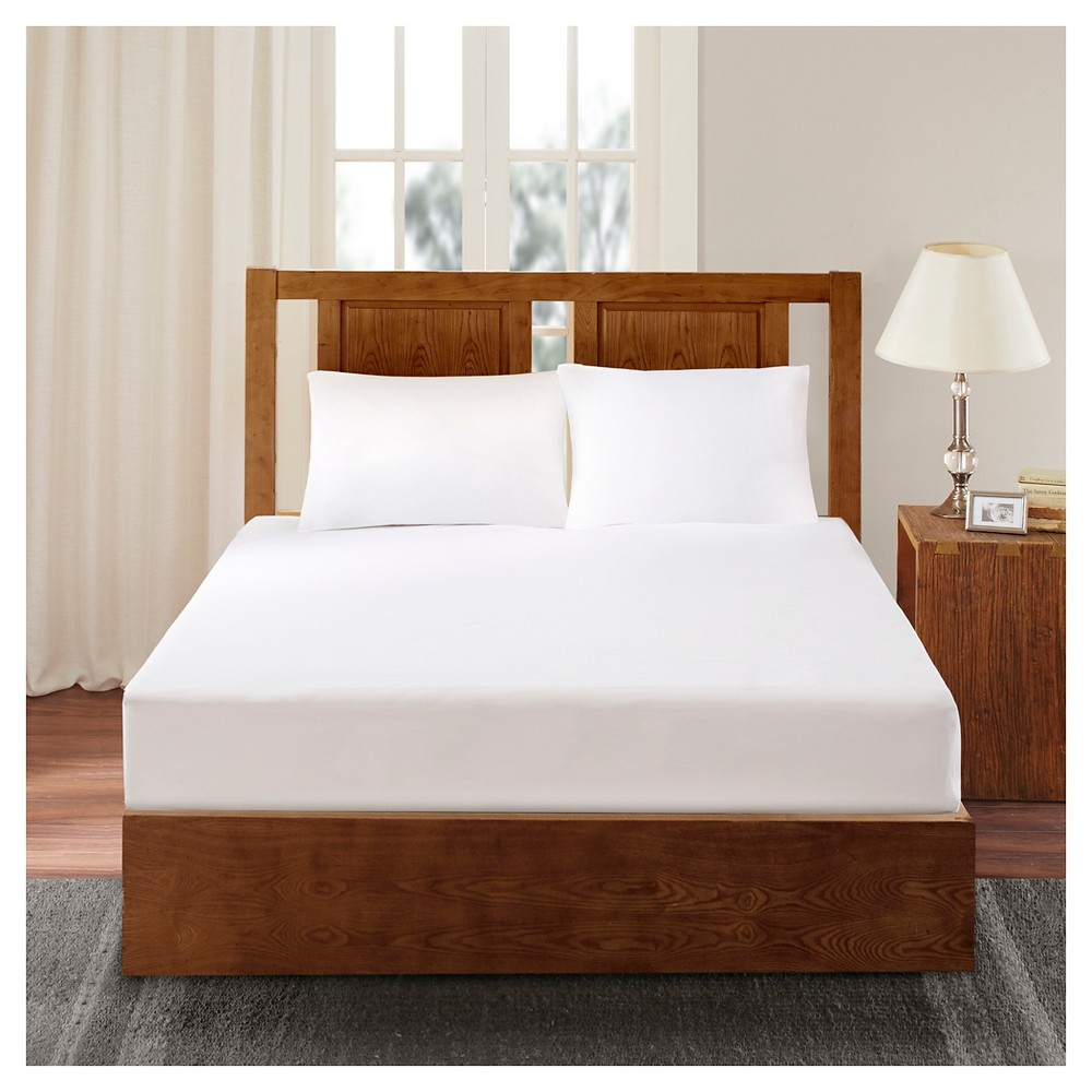 Bed Guardian 3M Scotchgard Mattress Protector (Twin) White