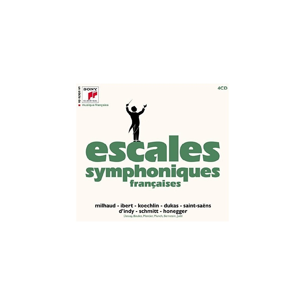 Various - Escales Symphoniques Francaises (CD)