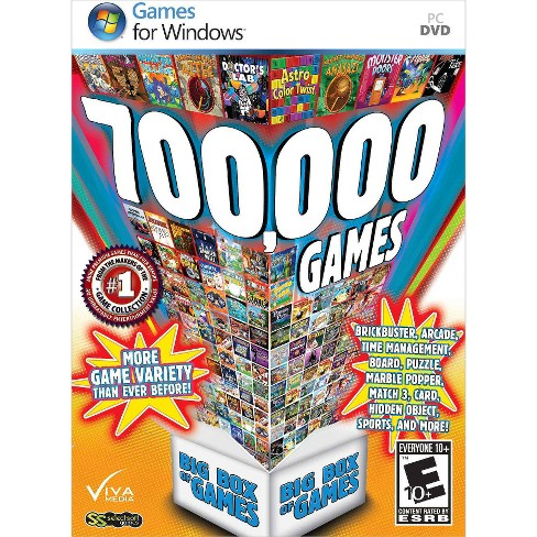 700,000 Games: Big Box of Games PC Game - image 1 of 1