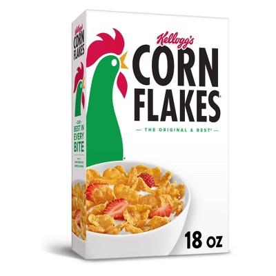 Corn Flakes Breakfast Cereal - 18oz - Kellogg's
