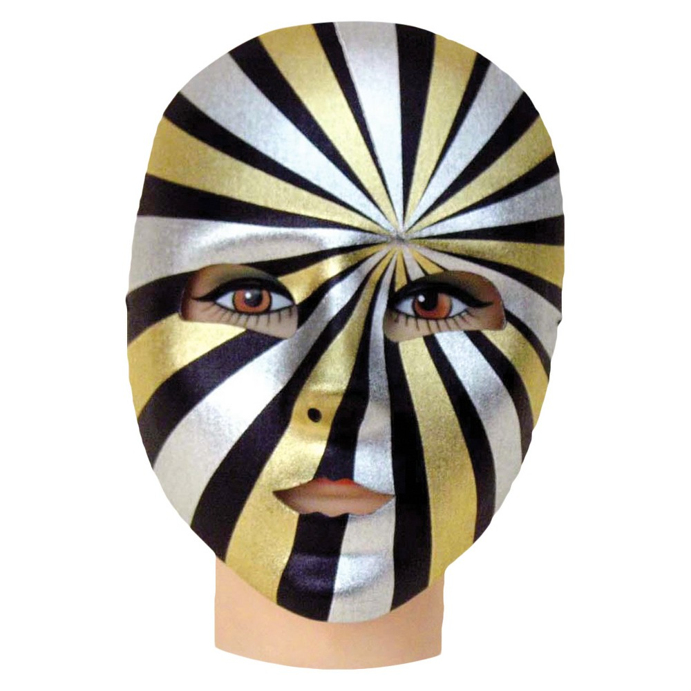Psycho Full Mask, Adult Unisex, Multi-Colored