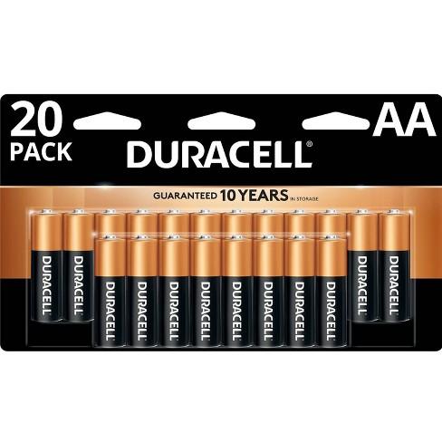 Duracell Coppertop Aa Batteries 20 Pack Alkaline Battery Target