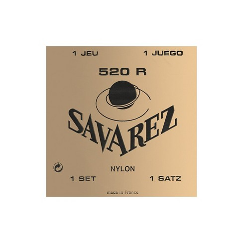 Savarez 520R Traditional Red Card Strong Tension Classical Guitar Strings - image 1 of 1