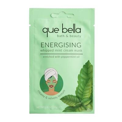 Que Bella Whipped Mint Cream Mask - 0.5 fl oz