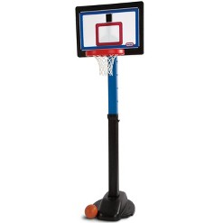 Little Tikes Play Pro Indoor Outdoor Kids Play Toy Portable Basketball Hoop Set