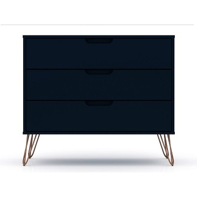 Rockefeller Dresser Blue - Manhattan Comfort