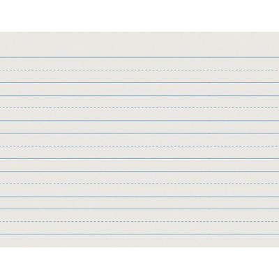500 Sheets School Specialty Handwriting Paper 8 x 10 1//2 inch 1//4 Skip 1//4 Dotted 1//2 Rule