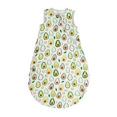Loulou Lollipop Muslin Sleep Sack Wearable Blanket - Avocado 12-24M