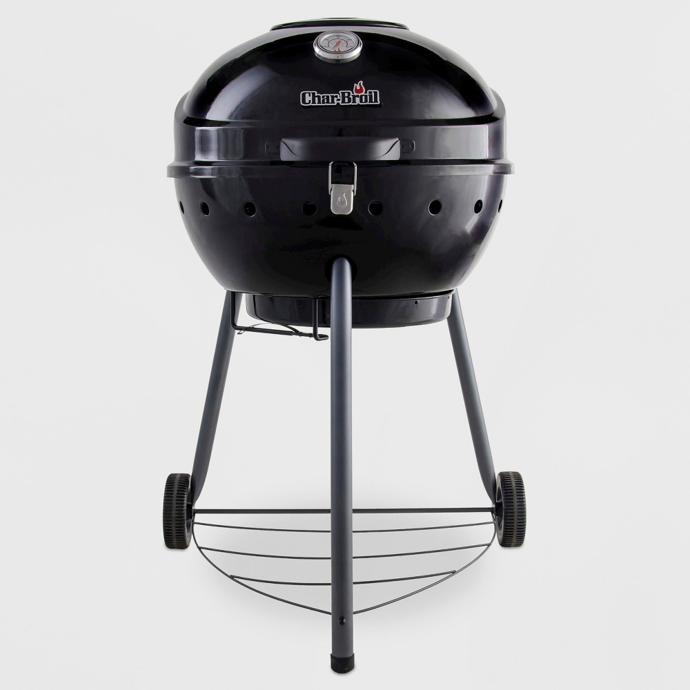 Char-Broil Tru-Infrared Kettleman 1.4301878E7 Charcoal Grill, Black 50015864