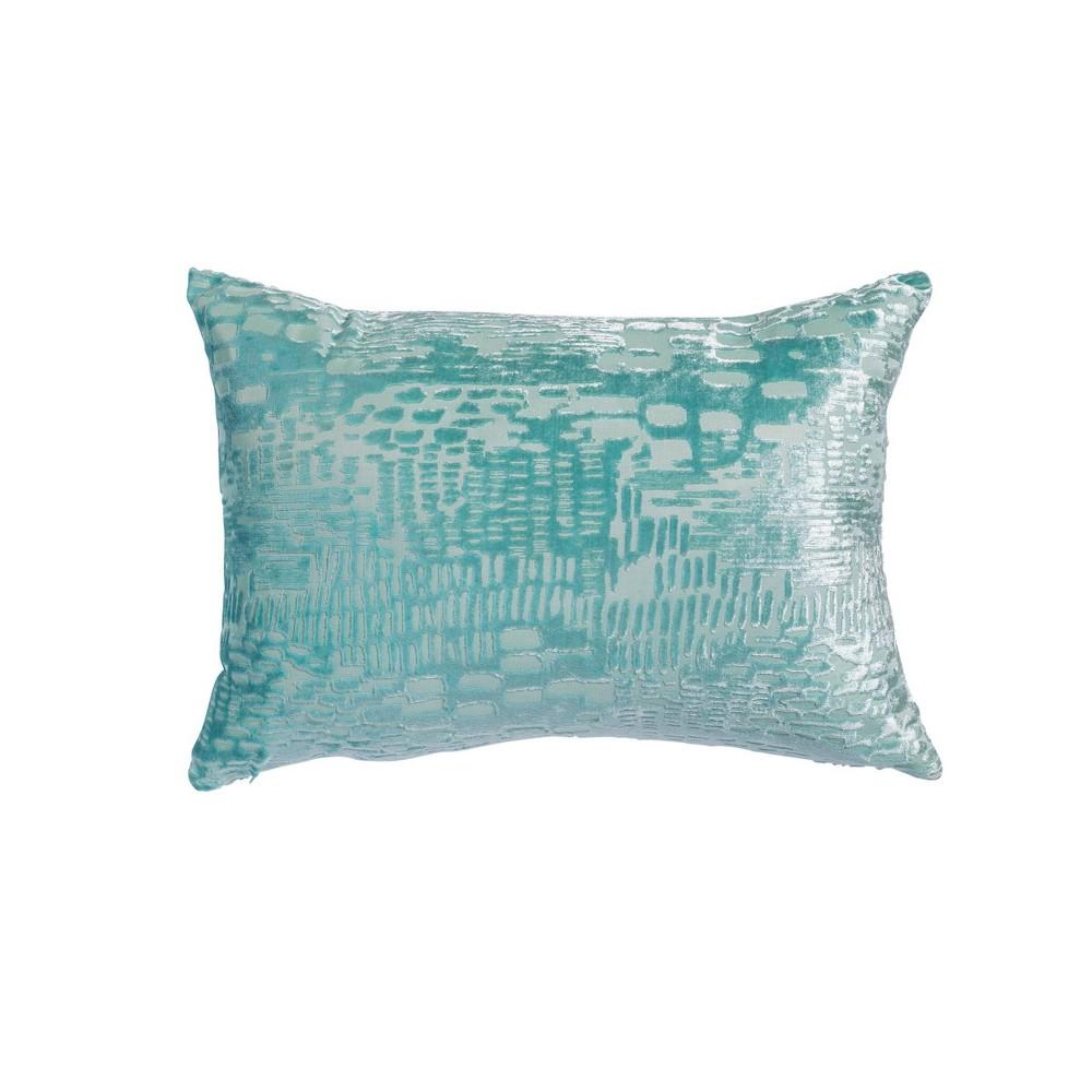 14 34 X20 34 Oversize Mojave Lumbar Throw Pillow Light Blue Sure Fit
