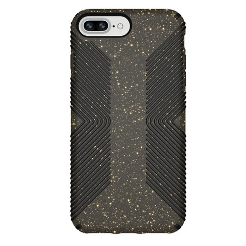 Speck Apple iPhone 8 Plus/7 Plus/6s Plus/6 Plus Case Presidio Grip - Black/Gold Glitter - image 1 of 8