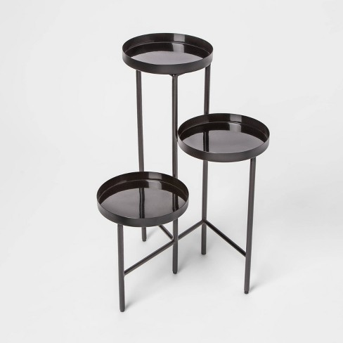 27 X 192 3 Tier Metal Planter Stand Black Project 62 Target