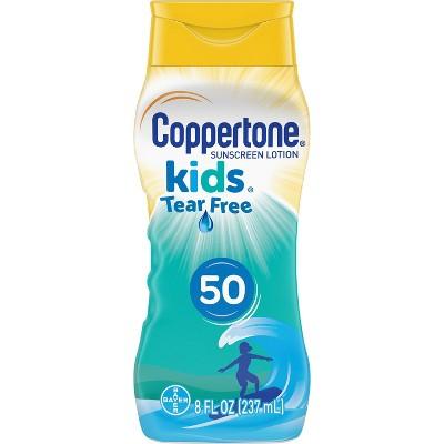 Coppertone Kids Tear Free Mineral Sunscreen Lotion - SPF 50 - 8oz