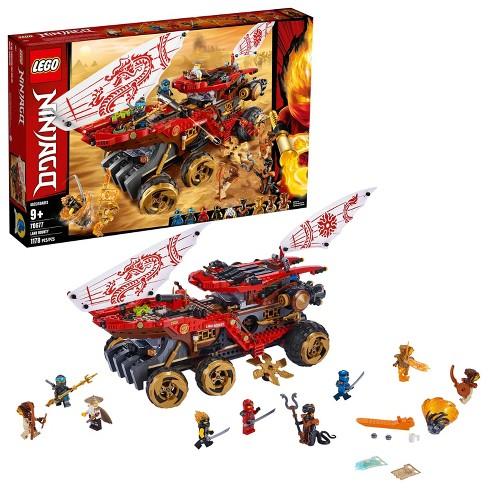 LEGO Ninjago Land Bounty Building Set with Ninja Minifigures, Action Toys for Creative Play 70677 - image 1 of 4