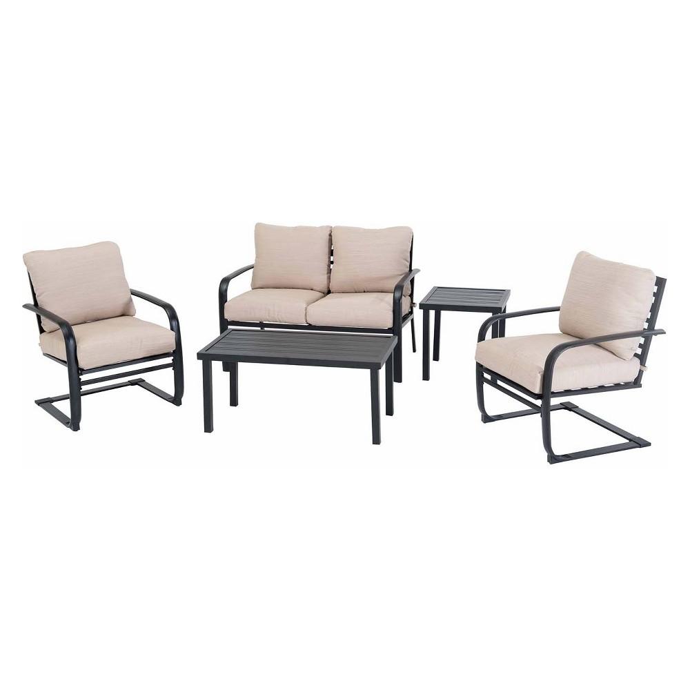 5pc Deep Seating Set -Sunjoy, Ivory