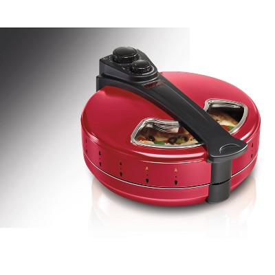 Hamilton Beach Pizza Maker - Red