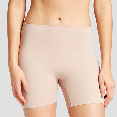 76b8eb6f23c16 Simply Perfect by Warner s® Women s Thigh Shapers 2 Pack - Buff Beige S    Target