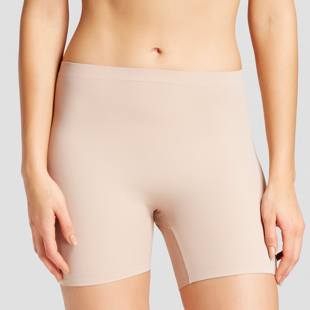 Simply Perfect by Warner's Women's Thigh Shapers 2 Pack- Black L, Black/Nude