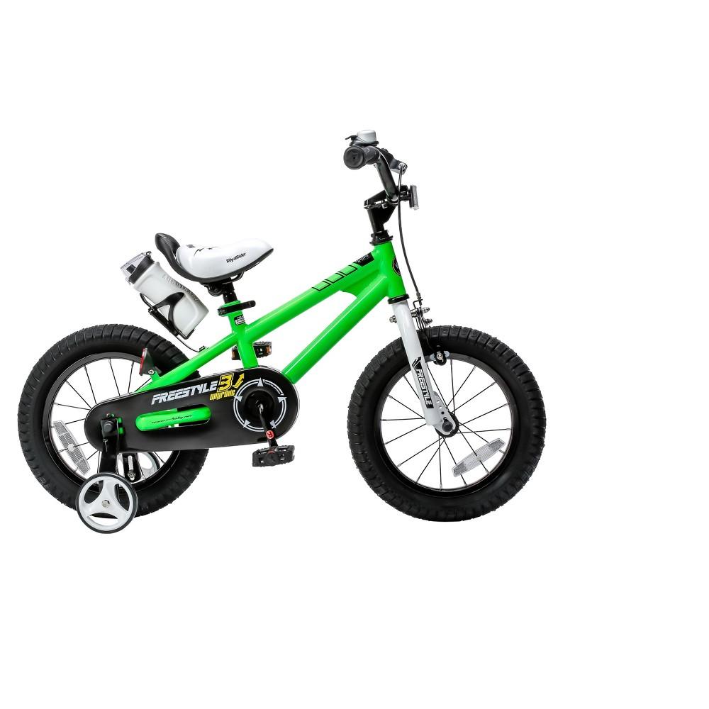 RoyalBaby Freestyle 14 Bike - Green