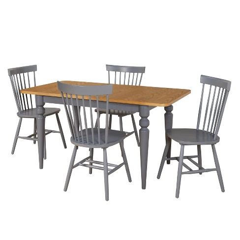 5pc Pranzo Dining Set - Gray - Buylateral - image 1 of 2