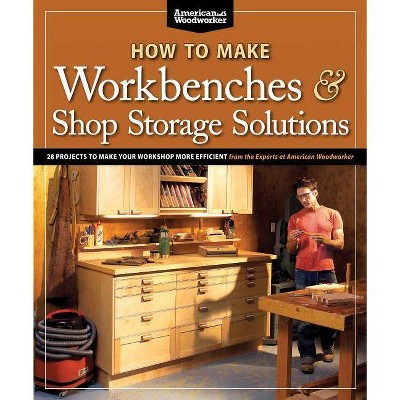 How to Make Workbenches & Shop Storage Solutions - (American Woodworker (Paperback)) by  Randy Johnson (Paperback)