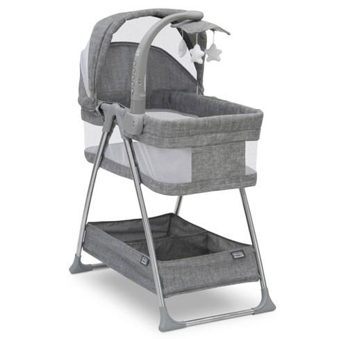 Simmons Kids' City Sleeper Bassinet - Gray Tweed - image 1 of 4