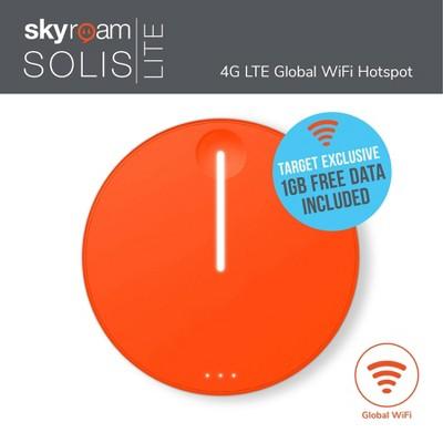 Skyroam Solis Lite Mobile Wifi Hotspot - Orange