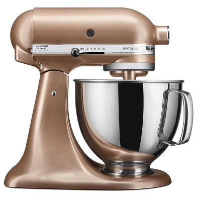 KitchenAid 5qt Artisan Series Tilt-Head Stand Mixer Toffee Delight - KSM150PSTZ