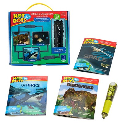 Educational Insights Hot Dots Jr. Ultimate Science Facts Interactive Book Set with Talking Pen
