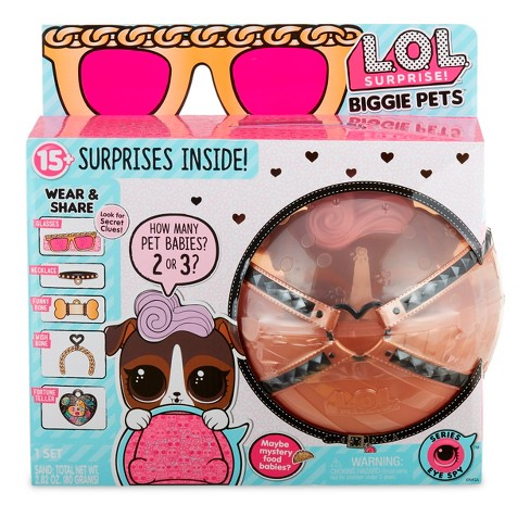 L O L Surprise Biggie Pet D J K9 Target