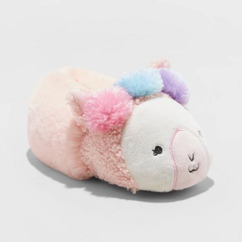 Toddler Girl Rilla Llama Slipper - Cat & Jack™ Pink - image 1 of 4