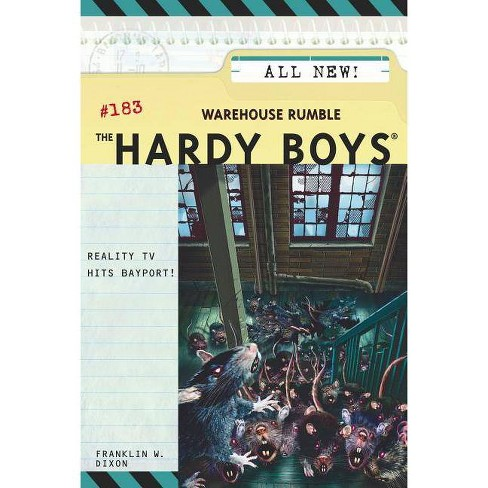 Warehouse Rumble - (Hardy Boys) by  Franklin W Dixon (Paperback) - image 1 of 1