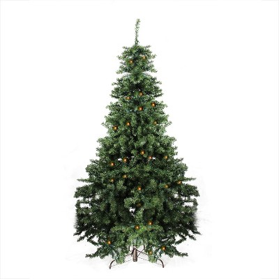 Darice 7' Prelit Artificial Christmas Tree LED Canadian Pine - Candlelights