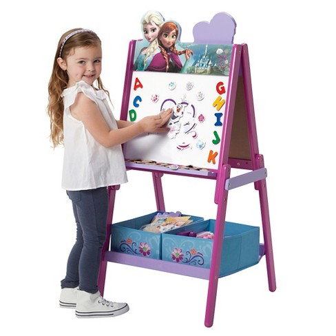 Delta Children Frozen Wooden Double Sided - Pink - image 1 of 4
