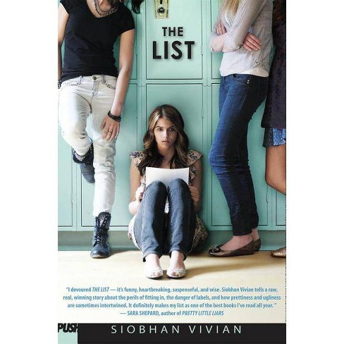 The List - by  Siobhan Vivian (Hardcover) - image 1 of 1