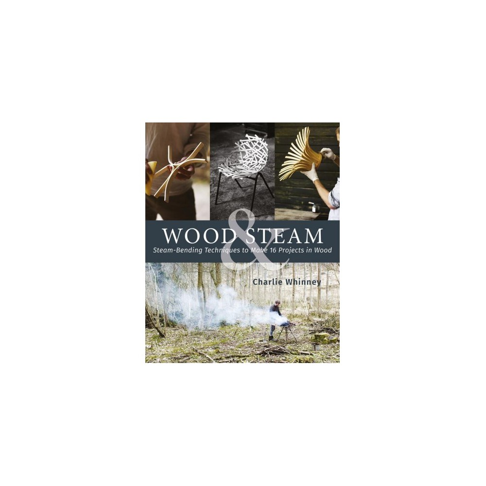 Wood & Steam : Steam-bending Techniques to Make 16 Projects in Wood - by Charlie Whinney (Paperback)