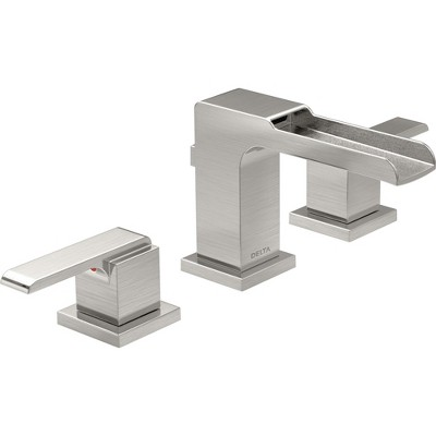 Exceptionnel Delta Faucet 3568LF MPU Ara 1.2 GPM Widespread Waterfall Bathroom Faucet :  Target