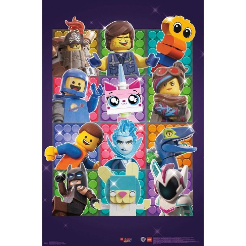 """34""""x23"""" Lego Movie 2 Grid Unframed Wall Poster Print - Trends International - image 1 of 2"""