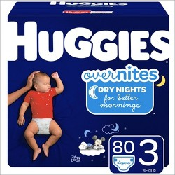 Huggies Overnites Diapers Super Pack - (Select Size)