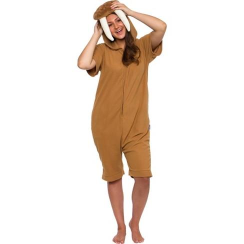 Funziez! Walrus Women's Short Sleeve Novelty Romper - image 1 of 4