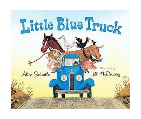 Little Blue Truck (School And Library) (Alice Schertle) - image 1 of 1