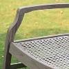 Teak Zuma Patio Lounge Chair Gray - Cambridge Casual - image 3 of 4