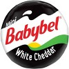 Mini Babybel White Cheddar Cheese - 14ct/10.5oz - image 2 of 4