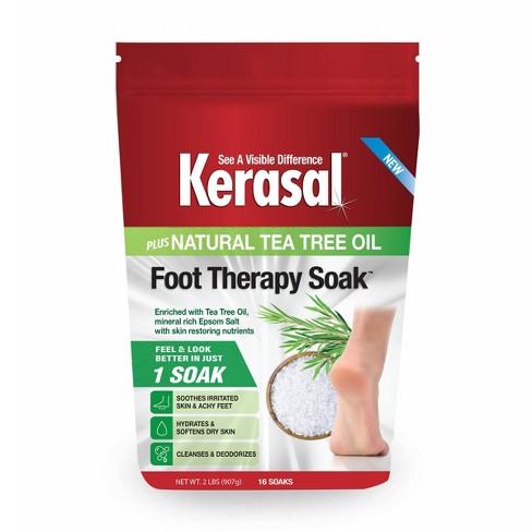 Kerasal Foot Therapy Soak Plus Natural Tea Tree Oil - 32oz - image 1 of 4