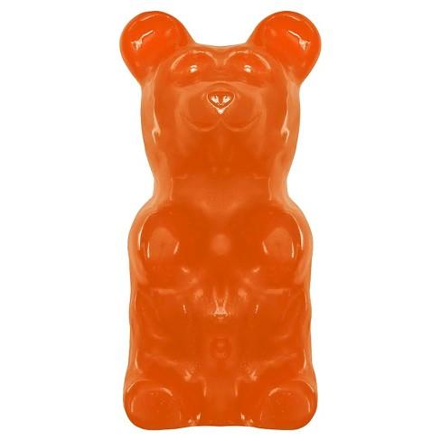 giant gummy bear world s largest gummy bear orange 5lbs target