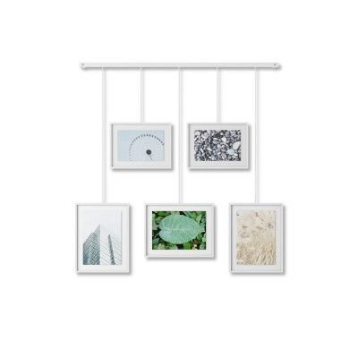 Exhibit Gallery Multiple Images Display Frame White - Umbra
